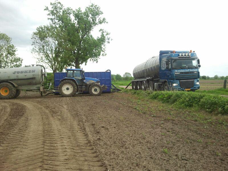 vrachtwagen land